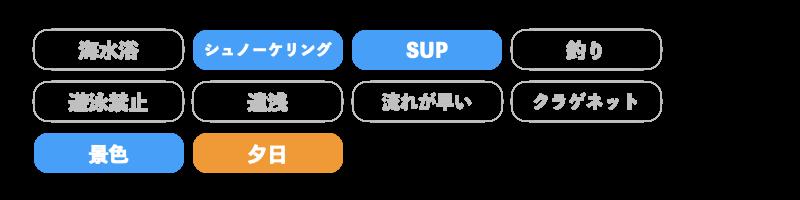 大崎ビーチの特徴