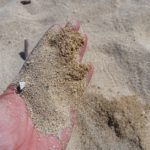 大浜農協前のビーチ