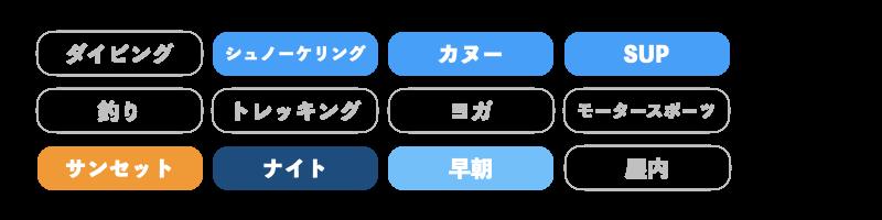石垣島adventure pipiのアクティビティ