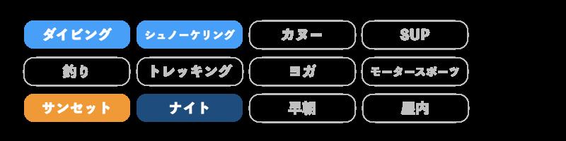 ぷしぃぬしま石垣店のアクティビティ